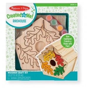 Melissa & Doug Build-Your-Own Wooden Birdhouse Craft Kit - Sale