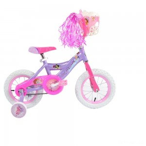 "Huffy Disney Princess Cruiser Bike 12"" - Purple, Girl's - Sale"