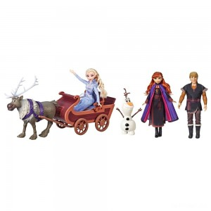 Disney Frozen 2 Sledding Adventures Doll Pack - Sale
