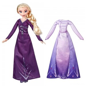 Disney Frozen 2 Arendelle Fashions Elsa Fashion Doll With 2 Outfits - Sale
