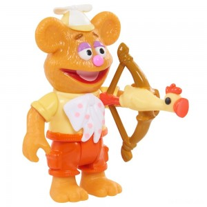 Disney Junior Muppet Babies Poseable Fozzie - Sale