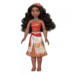 Disney Princess Royal Moana Shimmer Doll - Sale