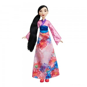 Disney Princess Royal Shimmer - Mulan Doll - Sale