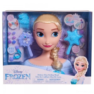 Disney Princess Elsa Deluxe Styling Head - Sale