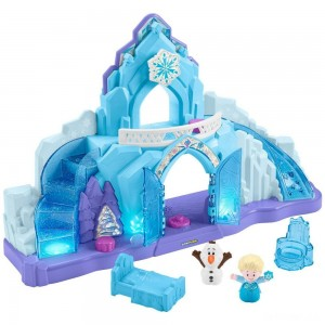 Fisher-Price Little People Disney Frozen Elsa's Ice Palace - Sale