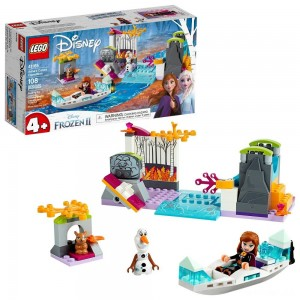 LEGO Disney Princess Frozen 2 Anna's Canoe Expedition 41165 Frozen Adventure Easy Building Kit 108pc - Sale