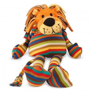 Melissa & Doug Elvis Lion - Patterned Pal Stuffed Animal - Sale