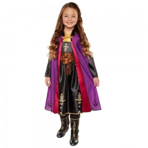 Disney Frozen 2 Anna Travel Dress, Size: Small, MultiColored - Sale