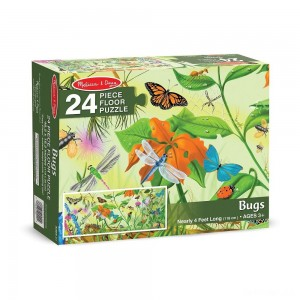 Melissa And Doug Bugs Jumbo Floor Puzzle 24pc - Sale