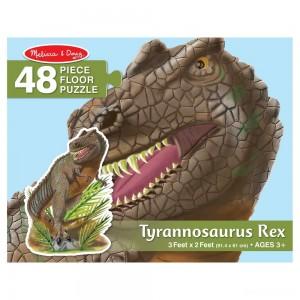 Melissa & Doug T-Rex Dinosaur Jumbo Jigsaw Floor Puzzle 48pc - Sale