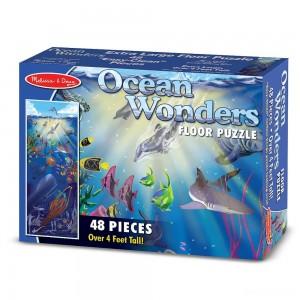 Melissa & Doug Ocean Wonders Jumbo Jigsaw Floor Puzzle 48pc - Sale