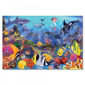 Melissa And Doug Underwater Ocean Floor Puzzle 48pc - Sale