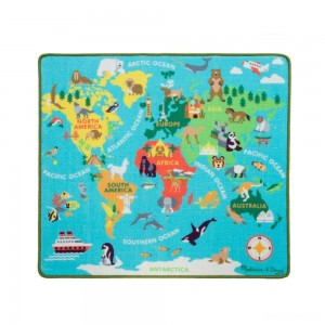 Melissa & Doug Round the World Travel Activity Rug - Sale