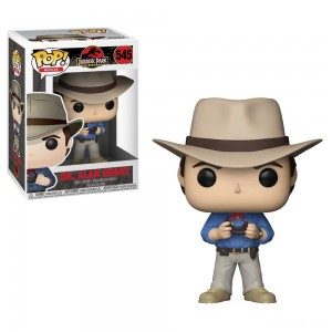 Funko POP! Movies: Jurassic Park 25th Anniversary - Dr. Alan Grant - Minifigure - Sale