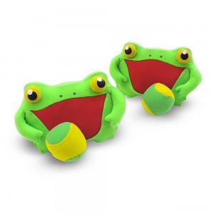 Melissa & Doug Sunny Patch Froggy Toss and Grip Catching Game With 2 Balls - Sale