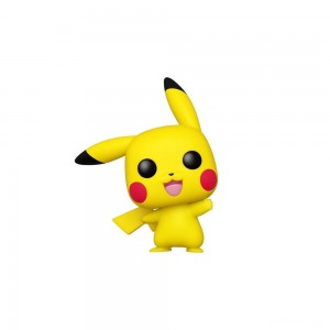 Funko POP! Games: Pokemon - Pikachu (Waving) - Sale