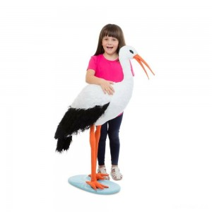 Melissa & Doug Stork, stuffed animals - Sale