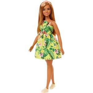 Barbie Fashionistas Doll #126 Jungle Dress - Sale