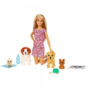 Barbie Doggy Daycare Doll & Pets - Sale