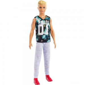 Barbie Ken Fashionistas Doll - Game Sunday - Sale