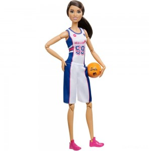 Barbie Made to Move Basketball Player Doll - Sale
