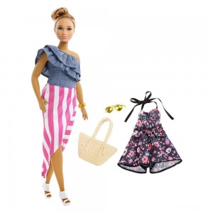 Barbie Fashionista Bon Voyage Doll - Sale