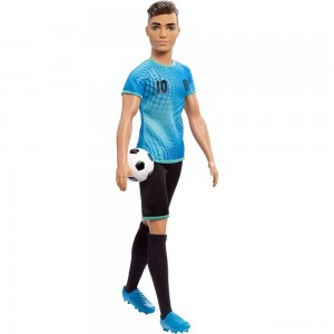 Barbie Ken Career Soccer Player Doll - Sale