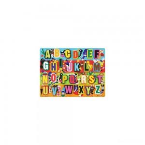 Melissa & Doug Jumbo ABC Wooden Chunky Puzzle (26pc) - Sale