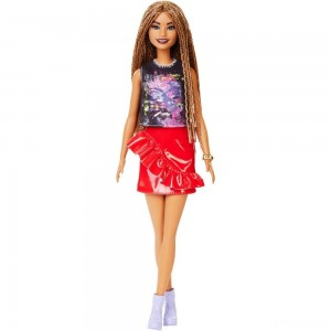 Barbie Fashionistas Doll #123 Girl Power Tee - Sale