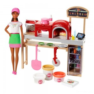 Barbie Careers Pizza Chef Nikki Doll and Playset - Sale