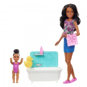 Barbie Skipper Babysitters Inc. Doll & Playset - Dark Hair - Sale