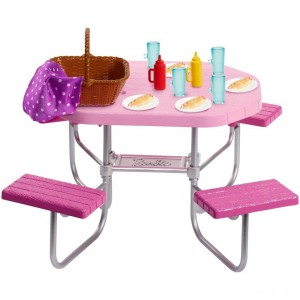Barbie Picnic Table Accessory - Sale
