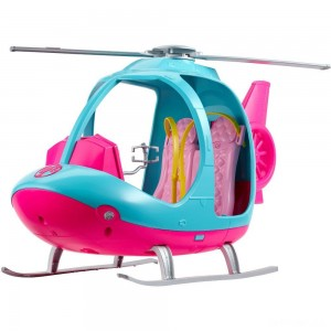 Barbie Travel Helicopter, toy vehicle playsets - Sale