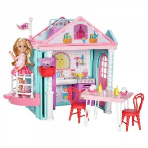 Barbie Club Chelsea Doll and Playhouse - Sale