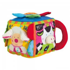 Melissa & Doug K's Kids Musical Farmyard Cube Educational Baby Toy - Sale