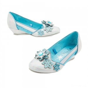 Disney Frozen 2 Elsa Kids' Dress-Up Shoes - Size 13-1, Blue - Sale