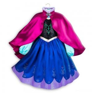 Disney Frozen 2 Anna Kids' Dress - Size 5-6 - Disney store, Girl's, Blue - Sale