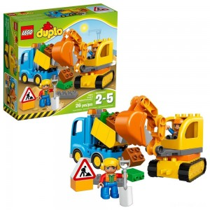 LEGO DUPLO Truck & Tracked Excavator 10812 - Sale