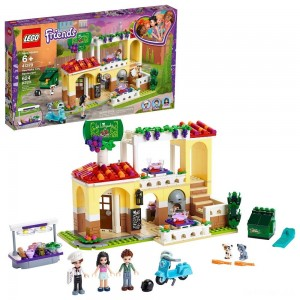 LEGO Friends Heartlake City Restaurant 41379 Building Kit with Restaurant Playset and Mini Dolls - Sale