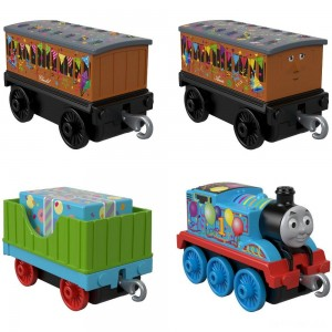 Fisher-Price Thomas & Friends Celebration Time Push Along 4pk - Sale