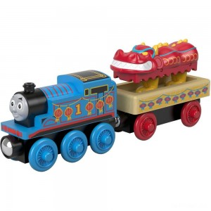 Fisher-Price Thomas & Friends Wood Thomas and the Dragon - Sale