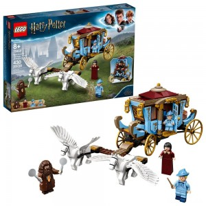 LEGO Harry Potter Beauxbatons' Carriage: Arrival at Hogwarts 75958 Toy Carriage Building Set 430pc - Sale