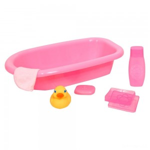 Melissa & Doug Mine to Love Baby Doll Bathtub and Accessories Set (6pc) - Sale