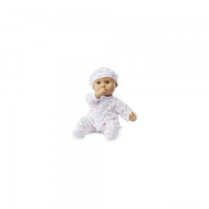 Melissa & Doug Mine to Love Mariana 12-Inch Poseable Baby Doll With Romper and Hat - Sale