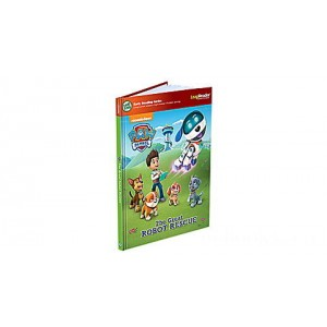 LeapReader™ Book: PAW Patrol: The Great Robot Rescue Ages 4-5 yrs.