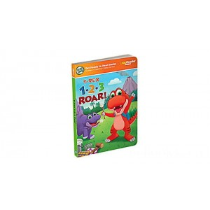 LeapReader™ Junior 1,2,3 Roar Counting Book Ages 1-3 yrs.