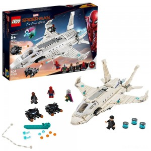 LEGO Super Heroes Marvel Spider-Man Stark Jet and the Drone Attack 76130 - Sale
