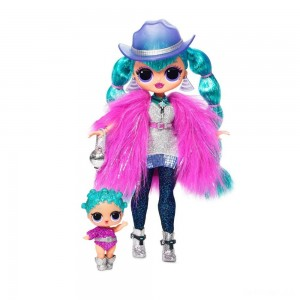 L.O.L. Surprise! O.M.G. Winter Disco Cosmic Nova Fashion Doll & Sister - Sale