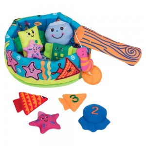Melissa & Doug K's Kids Fish and ct Learning Game With 8 Numbered Fish to Catch and Release - Sale
