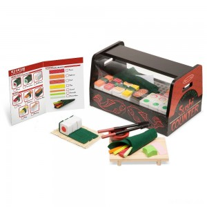 Melissa & Doug Roll, Wrap & Slice Sushi Counter - Sale